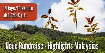 Malaysia Urlaub   Rundreise Highlights Malaysias