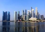 Malaysia Reisen | Singapur Skyline