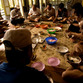 Malaysia Reisen | Essen im Iban-Longhouse, Borneo