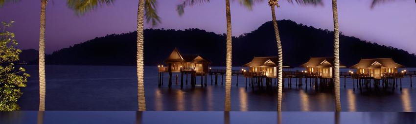 Malaysia Reisen | Infinity Pool, Pangkor Laut