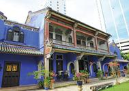 Cheong Fatt Tze Gebäude in Georgetown, Penang