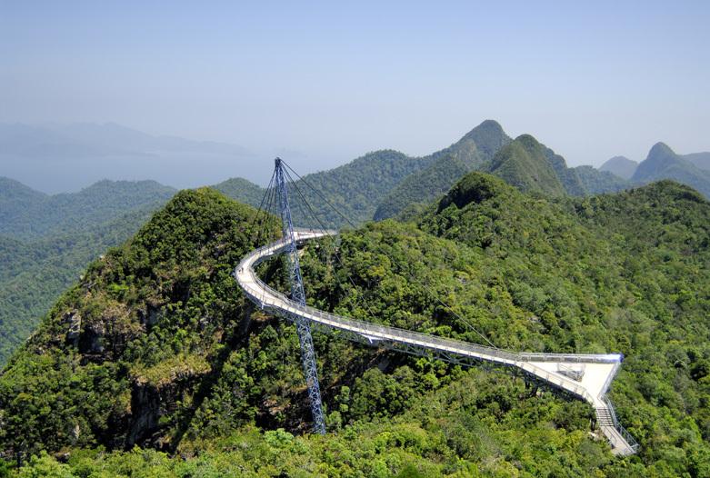 Malaysia Reisen | Skybridge, Langkawi